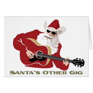 Santa's Other Gig Card