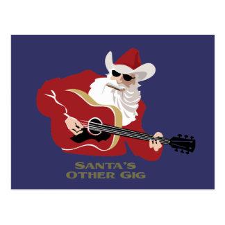 Santa's Other Gig Postcard