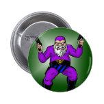 santa's other job: day 363 pinback button