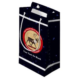 Santa's Own - 1st Polar Airlift Squadron Small Gift Bag