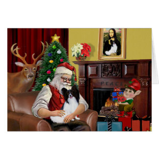 Santa's Papillon Card