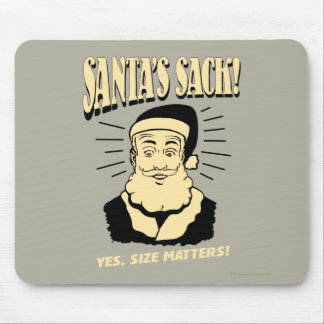 Santa's Sack: Yes, Size Matters Mouse Mat