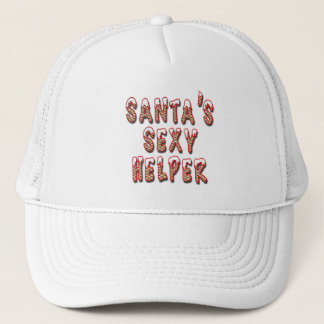 Santa's Sexy Helper Trucker Hat