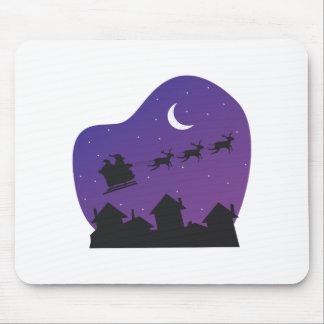 Santas Sleigh Mousepad