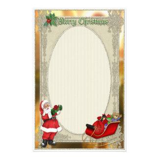 Santa's Sleigh Stationery