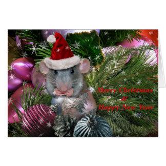 Santa's Tiniest Little Helper Card