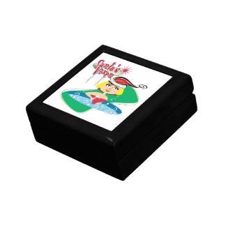 Santa's Vixen Trinket Box