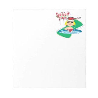 Santa's Vixen Memo Pad