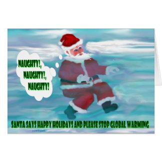 Santa's Wish List Card