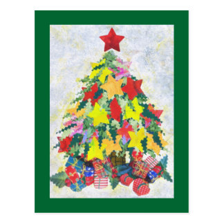 Santa's Work is Done postcard