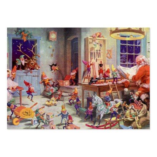 Santas Workshop Business Card Templates