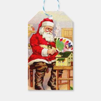 Santa's Workshop Gift Tags