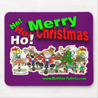 Santa's Workshop Mouse Pad