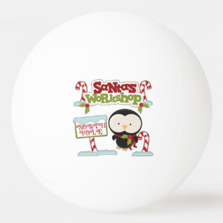 Santa's Workshop Penguin/Jolly Holidays Ping Pong Ball