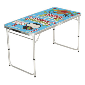Santa's Workshop Penguin/ Jolly Holidays Pong Table