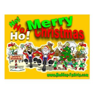 Santa's Workshop Post Card