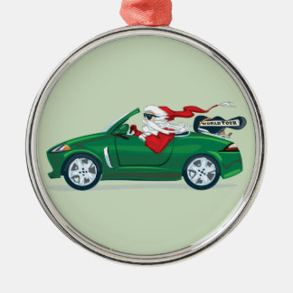 Santa's World Tour Convertible Christmas Ornament