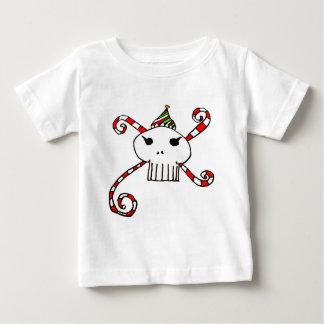 santaskull baby T-Shirt