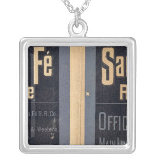 Sante Fe Route, California Silver Plated Necklace