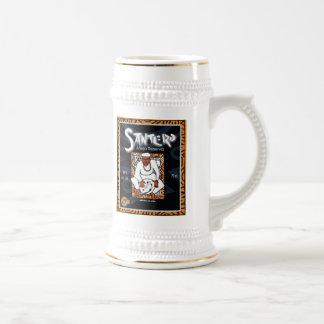 Santero Cubano Beer Stein Coffee Mugs