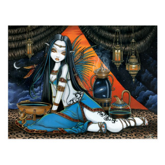 Santha Celestial Tribal Sage Fairy Angel Poscard Postcard