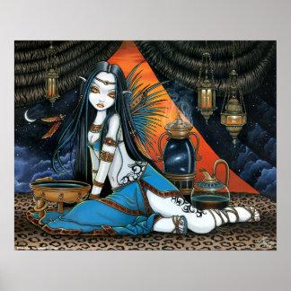 Santha Celestial Tribal Sage Fairy Angel Poster