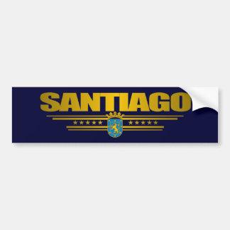 Santiago Bumper Sticker