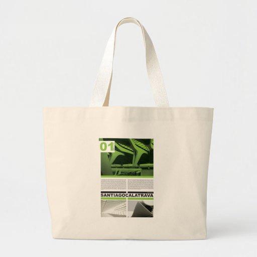 Santiago Calatrava Jumbo Tote Bag