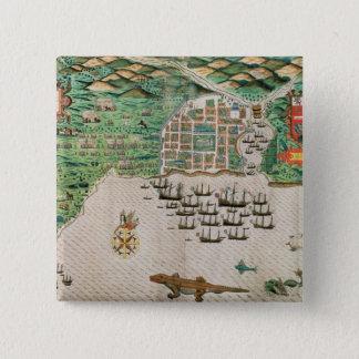 Santiago, Cape Verde, 1589 2 15 Cm Square Badge