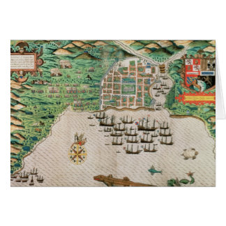 Santiago, Cape Verde, 1589 2 Card