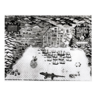 Santiago, Cape Verde, 1589 Postcard