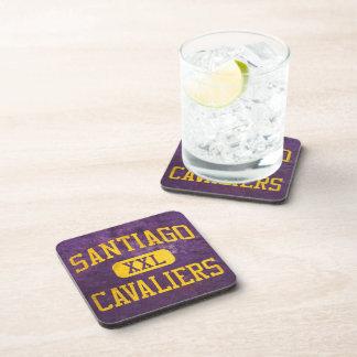 Santiago Cavaliers Athletics Drink Coasters
