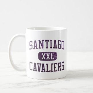Santiago Cavaliers Athletics Classic White Coffee Mug