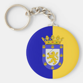Santiago, Chile, Chile Basic Round Button Key Ring