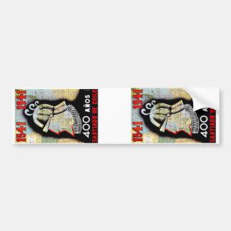 Santiago De Chile Bumper Sticker