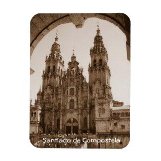 Santiago de Compostela - Catedral Rectangular Photo Magnet