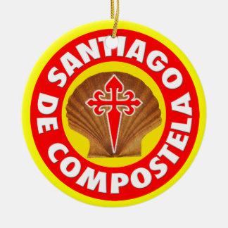 Santiago de Compostela Christmas Ornament