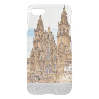 Santiago de Compostela. Western façade. Spain iPhone 8/7 Case