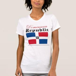 Santo Domingo, Dominican Republic Flag T-Shirt