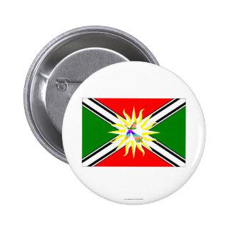 Santo Domingo flag 6 Cm Round Badge