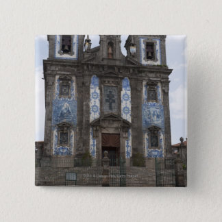 Santo Ildenfonso Church With Tile Panels 15 Cm Square Badge