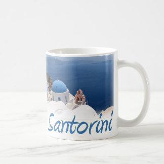 Santorini Basic White Mug