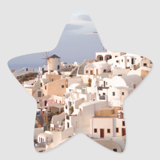 Santorini Beauty Star Sticker