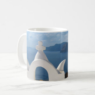 Santorini Bell Tower in the Afternoon Sun Coffee Mug