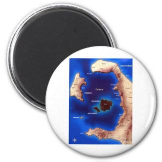 santorini-caldera-map jpg fridge magnets