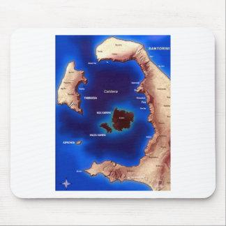 santorini-caldera-map jpg mousepad