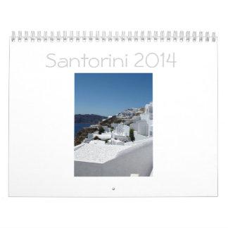 Santorini Calendar 2014