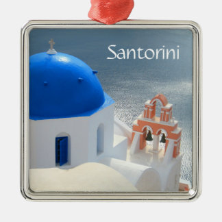 Santorini Church in the Afternoon Sun Christmas Ornament