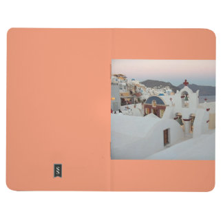 Santorini Evening Pocket Journal