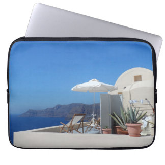 Santorini, Greece Laptop Sleeve